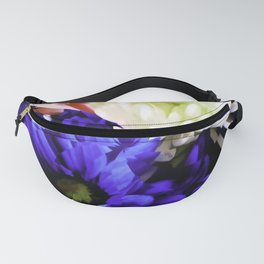 A Red White And Blue Bouquet For Laurel Fanny Pack