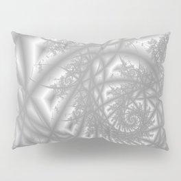 Venetian Lace In Gray Pillow Sham