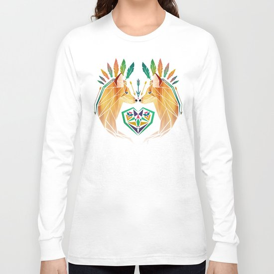foxes in love Long Sleeve T-shirt