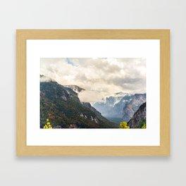 #MoodyMonday Framed Art Print
