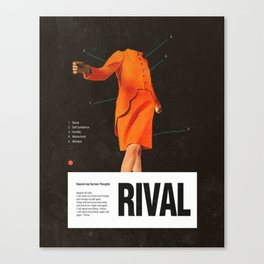 Self Rival Canvas Print