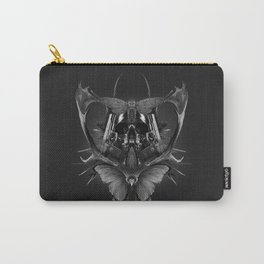 Skull Rorschach Carry-All Pouch