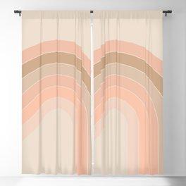 Soft Light Corner Bow Blackout Curtain