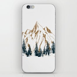 mountain # 4 iPhone Skin