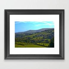 Devon Landscape Framed Art Print