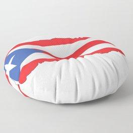 Puerto Rico Colors Floor Pillow