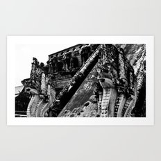 Ancient Temple Art Print