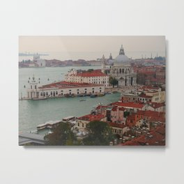 Venice view from the Campanile of San Marco Metal Print