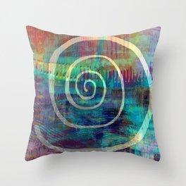 Spiral S46 Throw Pillow