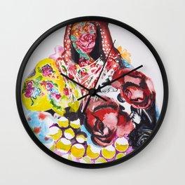 Black Sarah Wall Clock