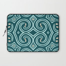 Svortices (Blue) Laptop Sleeve