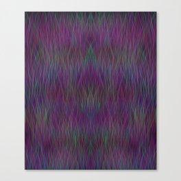 Multi- coloured Grass Design Canvas Print