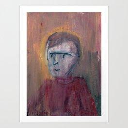 Guy With Turtleneck Art Print