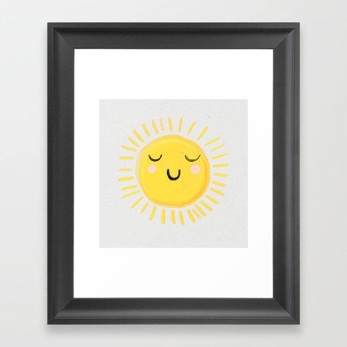 Sunshine Gerahmter Kunstdruck