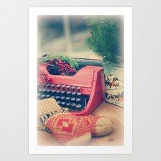 December moments Art Print