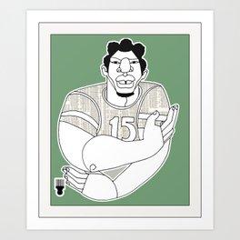 1001 Black Men--#23 Art Print