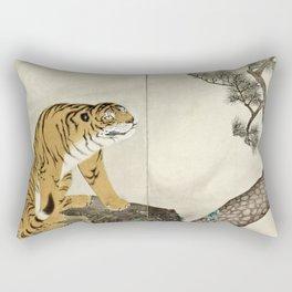Maruyama Okyo - Tiger Rectangular Pillow