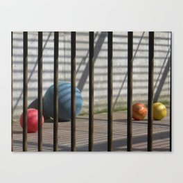 Still life in zoo Canvas Print