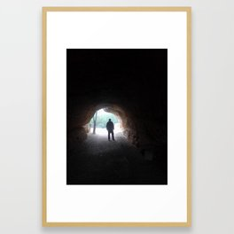 Caverna Framed Art Print