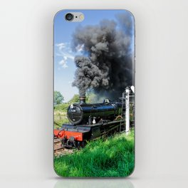 Dinmore Manor in motion iPhone Skin