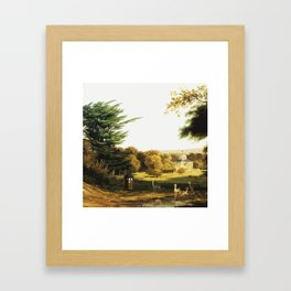 Tardis Art Summer Painting Framed Art Print