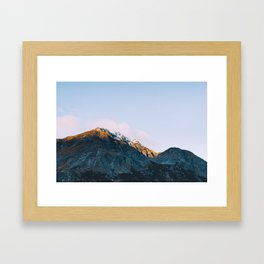 Dawn Mountain - Kenai Fjords National Park II Framed Art Print