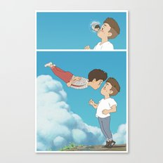 LOUIS LOVES HAM! LOUIS LOVES LIAM! Canvas Print