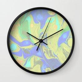 Green Flow Wall Clock