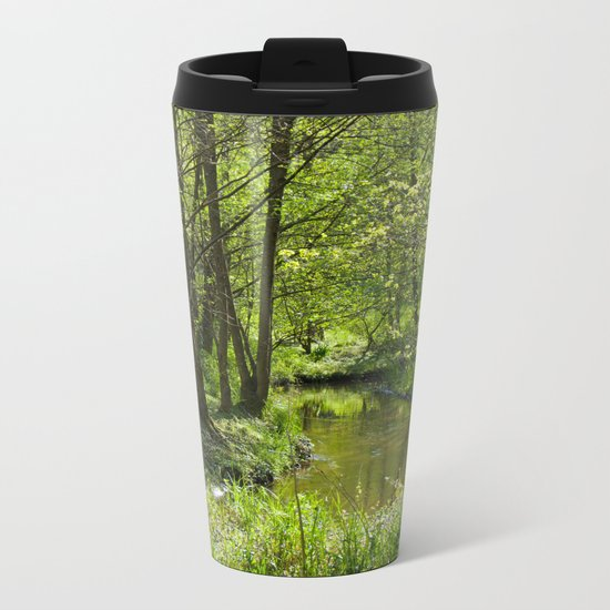 Idyllic scenery Metal Travel Mug