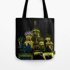 Saint Basil's Cathedral, Moscow Tote Bag