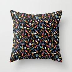 Rocket Rush Throw Pillow