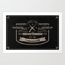 Minutemen of the Commonwealth Art Print