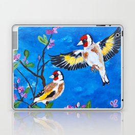 Goldfinches Laptop & iPad Skin