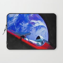 Tesla's Starman Laptop Sleeve