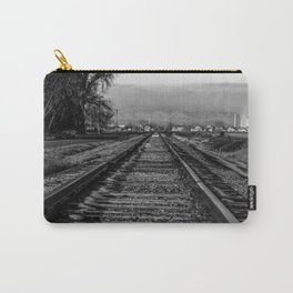 Wrong Side of the Tracks Carry-All Pouch