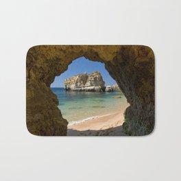 An Algarve beach, Portugal Bath Mat