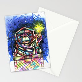 E.T going home Stationery Cards