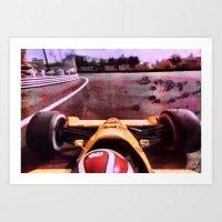 formula 1 Art Prints featuring Formula 1 by Jean-François Dupuis