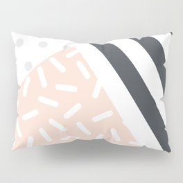 Random Geo - Dots Dashes and Stripes Pillow Sham