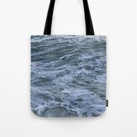 rush Tote Bags featuring Rush by Olivia