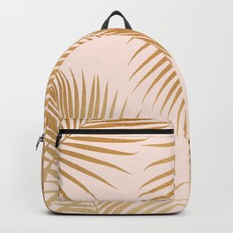 Tropical Escape / Golden Palm Fronds Backpack