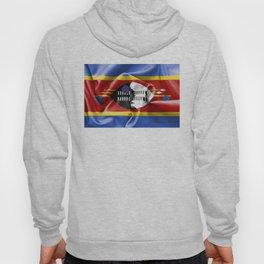 Swaziland Flag Hoody