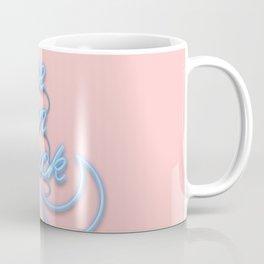 To the Moon and Back Neon Version Coffee Mug