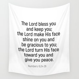 Numbers 6 24 #bibleverse #scriptures #blessing Wall Tapestry