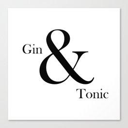 Gin & Tonic Canvas Print