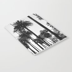 Los Angeles Black and White Notebook