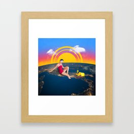 The Countryside Framed Art Print