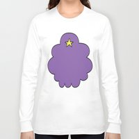 lumpy space princess Long Sleeve T-shirts featuring Lumpy Space Princess by SBTee's