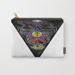 """""""Beez Lee Art : Wish Upon A Triangle Star"""" Carry-All Pouch"""