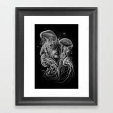A Beautiful Delusion Framed Art Print